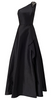 RALPH LAUREN - Black Off Shoulder Gown - Designer Dress hire