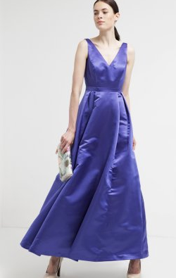 ADRIANNA PAPELL - Peacock Gown - Designer Dress hire