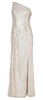 ARIELLA - Sequin Fishtail Gown - Designer Dress hire