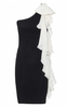 ALICE AND OLIVIA - Zoey Ruffle Dress - Designer Dress hire