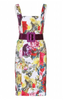 GHOST - Orla Falling Botanics Dress - Designer Dress hire