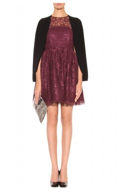 ALICE AND OLIVIA - Ophelia Metallic Dress - Designer Dress hire