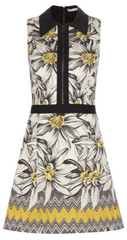 ALICE AND OLIVIA - Ellis Cotton Dress - Designer Dress Hire