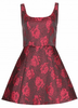 ALICE AND OLIVIA - Hazeline Jacquard Dress - Designer Dress hire