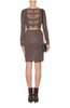 ALICE AND OLIVIA - Nala Knit Dress - Designer Dress hire