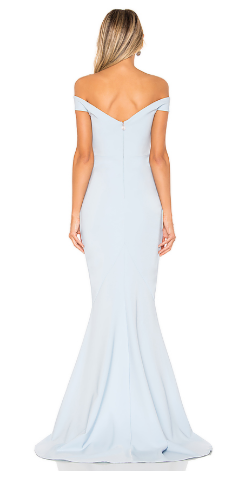 NOOKIE - Allure Gown - Designer Dress hire