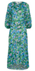 CHI CHI LONDON - Blue White Flower Dress - Designer Dress hire