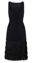 AMANDA WAKELEY - Aluna Fringe Dress - Rent Designer Dresses at Girl Meets Dress