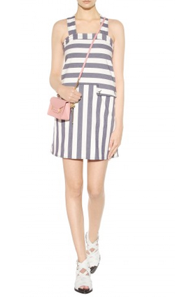 SEE BY CHLOE - Amya Striped Dress - Designer Dress hire