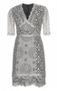 RED VALENTINO - Rainbow Lace Dress - Designer Dress hire