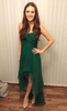 ARIELLA - Ivy Emerald Gown - Designer Dress hire