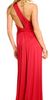 ARIELLA - Jessica Red Gown - Designer Dress hire