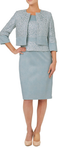 ARIELLA - Cornelia Dress and Jacket Set - Designer Dress hire