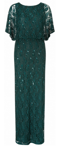 Ophelia Beaded Cape Dress