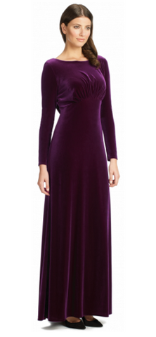 ARIELLA - Rafaella Velvet Gown - Designer Dress hire