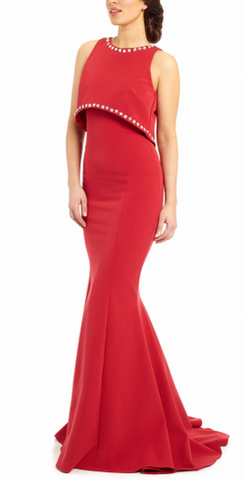 ARIELLA - Saffron Gown - Designer Dress hire