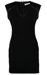 PIERRE BALMAIN - Leather Sleeveless Dress - Designer Dress Hire