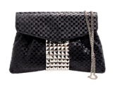 ANGEL JACKSON - Woven Atena Studded Bag - Designer Dress hire