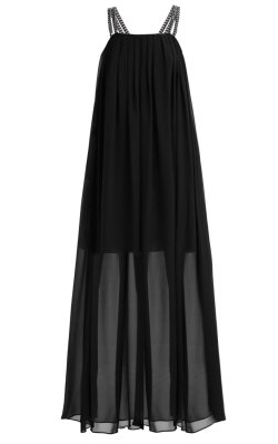 PIERRE BALMAIN - Metal Strap Dress - Designer Dress hire