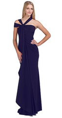 BADGLEY MISCHKA - Asymmetrical Twist Gown - Rent Designer Dresses at Girl Meets Dress