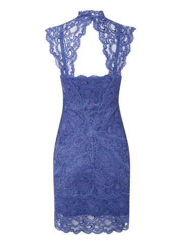 NICOLE MILLER - Eva Dress Indigo - Designer Dress hire