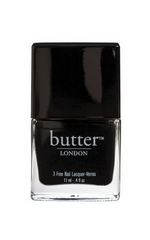 BUTTER LONDON - Varnish Union Jack Black - Designer Dress hire