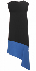 BALENCIAGA - Blue Hem Dress - Designer Dress Hire