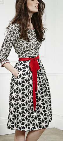 LIBELULA - Beatrix Snowflake Dress - Designer Dress hire