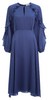 GHOST - Mindy Dress Navy - Designer Dress hire