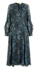 CHRISTOPHER KANE - Fur Trimmed Dress - Designer Dress hire
