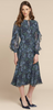 BEULAH - Ophelia Floral Ruffle Dress - Designer Dress hire