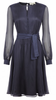 Butter by Nadia - Jersey Dress Sapphire - Designer Dress hire