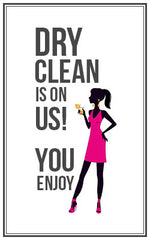 -- - Dry Cleaning on us! - Designer Dress Hire