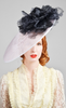 CAMILLA ROSE - Agave Navy Hat - Designer Dress hire