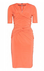 BURBERRY LONDON - Erica Ruched Dress - Designer Dress Hire