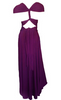 Butter by Nadia - Jersey Gown Amethyst - Designer Dress hire