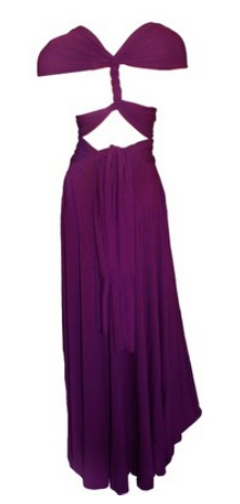 Butter by Nadia - Jersey Dress Amethyst