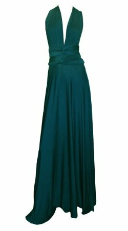 BUTTER BY NADIA - Jersey Gown Cerulean