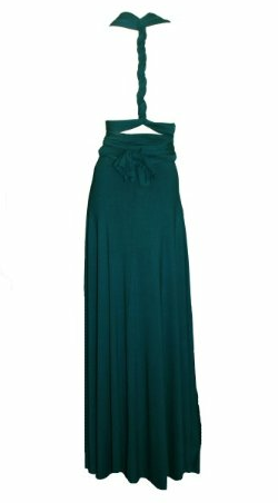 Butter by Nadia - Jersey Gown Cerulean - Designer Dress hire