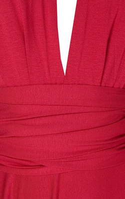 BUTTER BY NADIA - Jersey Dress Red - Designer Dress hire