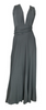 RALPH LAUREN - Zane Steel Occasion Dress - Designer Dress hire