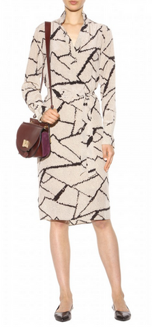 BY MALENE BIRGER - Fabimo Printed Silk Dress - Designer Dress hire