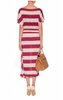 BY MALENE BIRGER - Striped Raspberry Dress - Designer Dress hire