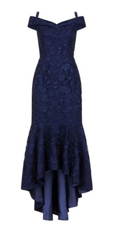 CHI CHI LONDON - Fishtail Bodycon Dress - Designer Dress hire
