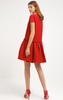 CACHAREL - Grenade Red Dress - Designer Dress hire