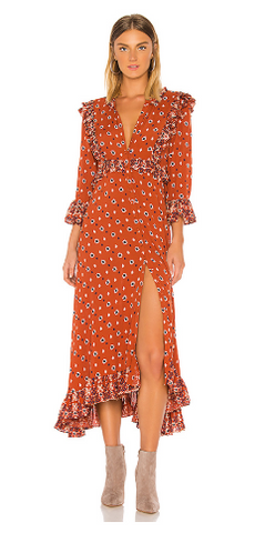 FREE PEOPLE - Calico Skies Dress - Designer Dress hire