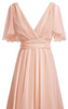 MAIDS TO MEASURE - Caroline Dress Coral - Designer Dress hire