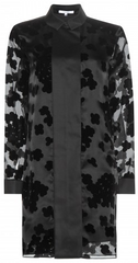 CARVEN - Floral Shirt Dress - Designer Dress Hire