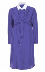 CARVEN - Knotted Shirt Dress - Designer Dress Hire