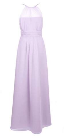 MAIDS TO MEASURE - Catherine Gown Lilac - Designer Dress hire
